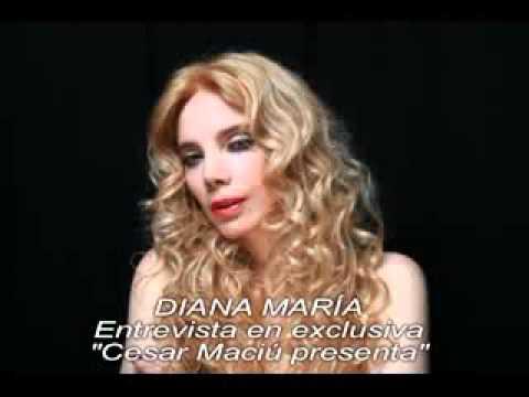 """Entrevista a Diana María, programa """"Cesar Maciú presenta"""""""