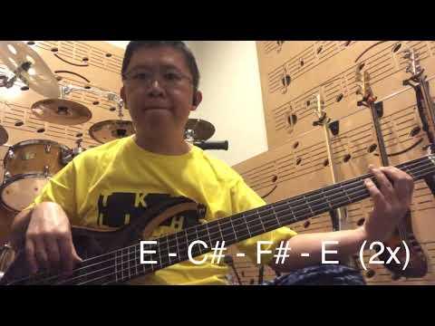 Bass Cover Friend Of God ( Israel Houghton Album) E=do, TKTF Light, Bass Sire Marcus Miller M7