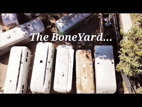 Flyte Camp Vintage Trailers EP8 - The BoneYard