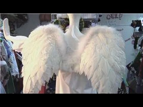 costumes halloween how to make an adult angel costume youtube - Halloween Costumes Angel Wings
