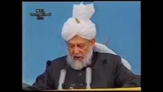 Address on the Second Day, Jalsa Salana 31 July 1999