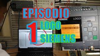 💥Episodio 1 Montaje LOGO Siemens 12/24RCE - 230R✅PLC Programming Tutorial for Beginners#tecnología.