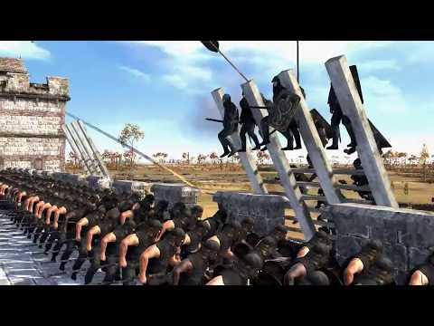 UNSULLIED DEFENCE OF CASTERLY ROCK!!!! SEVEN KINGDOMS TOTAL WAR