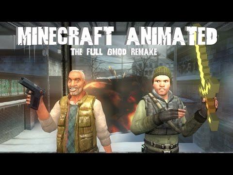 Super Minecraft Kid's 'Minecraft Animated' (GMod Remake) - The Full Series!