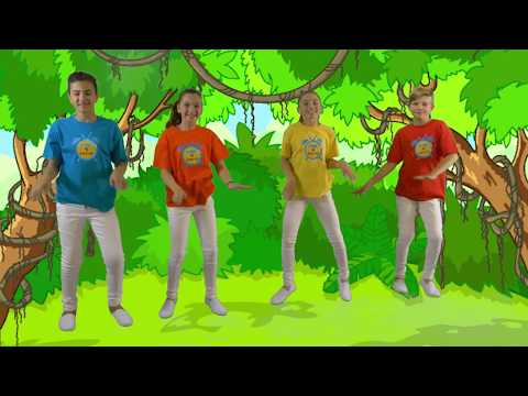 Jungle Jive | Fun Animal Song for Kids | Time 4 Kids TV