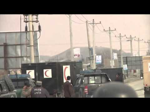 Raw: Militants Attack Afghan Election Office