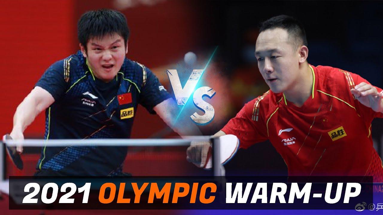 Download Fan Zhendong vs Xu Chenhao | 2021 Chinese Warm-up for Olympic