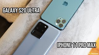 Galaxy S20 Ultra vs iPhone 11 Pro Max | Camera TEST!