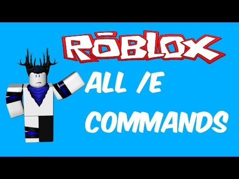 All /e Commands In ROBLOX 2020 Working..