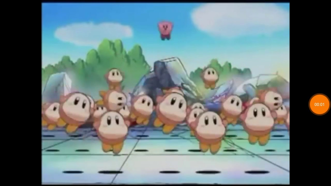 Kirby Right Back At Ya Waddle Dee Dance Youtube