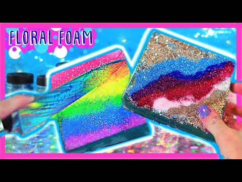 FLORAL FOAM - DIY TRYING NEW TRENDS ON INSTAGRAM  - Trying Trends Ep.1