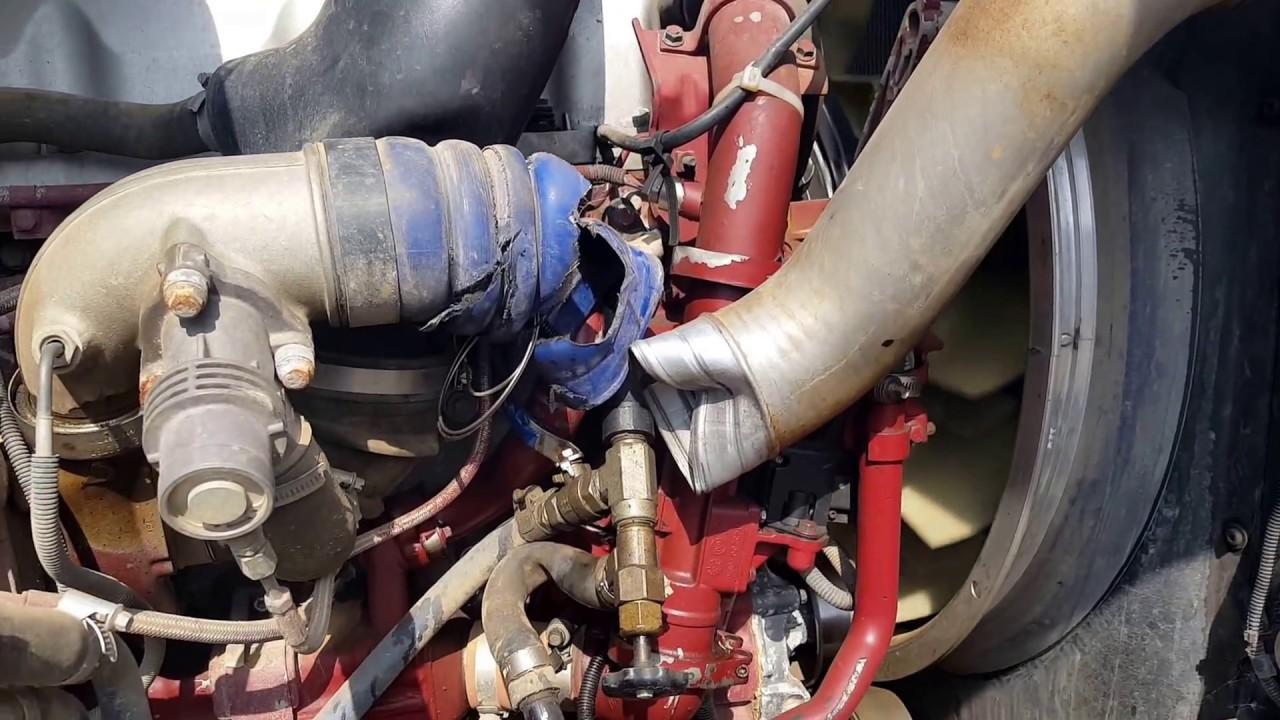 TAG# 137018 MACK MP8 ENGINE RUN - YouTube