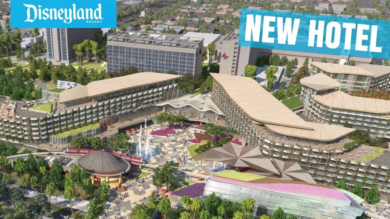 new hotel coming to the disneyland resort in 2021 concept art full