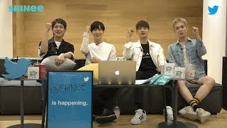 Video 180627 Welcome to SHINee OurRoom TwitterBlueroom Live download MP3, 3GP, MP4, WEBM, AVI, FLV September 2018