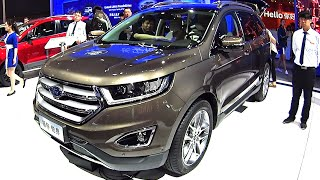 Officially New Ford Edge 2016, 2017 this is the new Ford Edge 2016, 2017 SUV