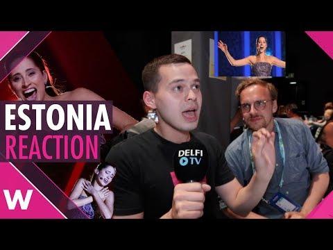 REACTION: Estonia Eurovision 2018 SF1 Elina Nechayeva La forza
