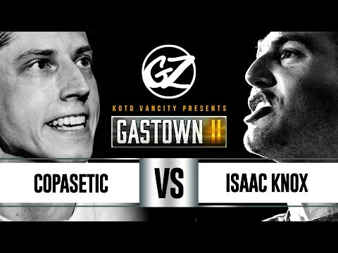KOTD - Rap Battle - Copasetic vs Isaac Knox | #GZ