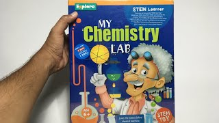 My Latest Chemistry Lab Simple Science Experiment Kit