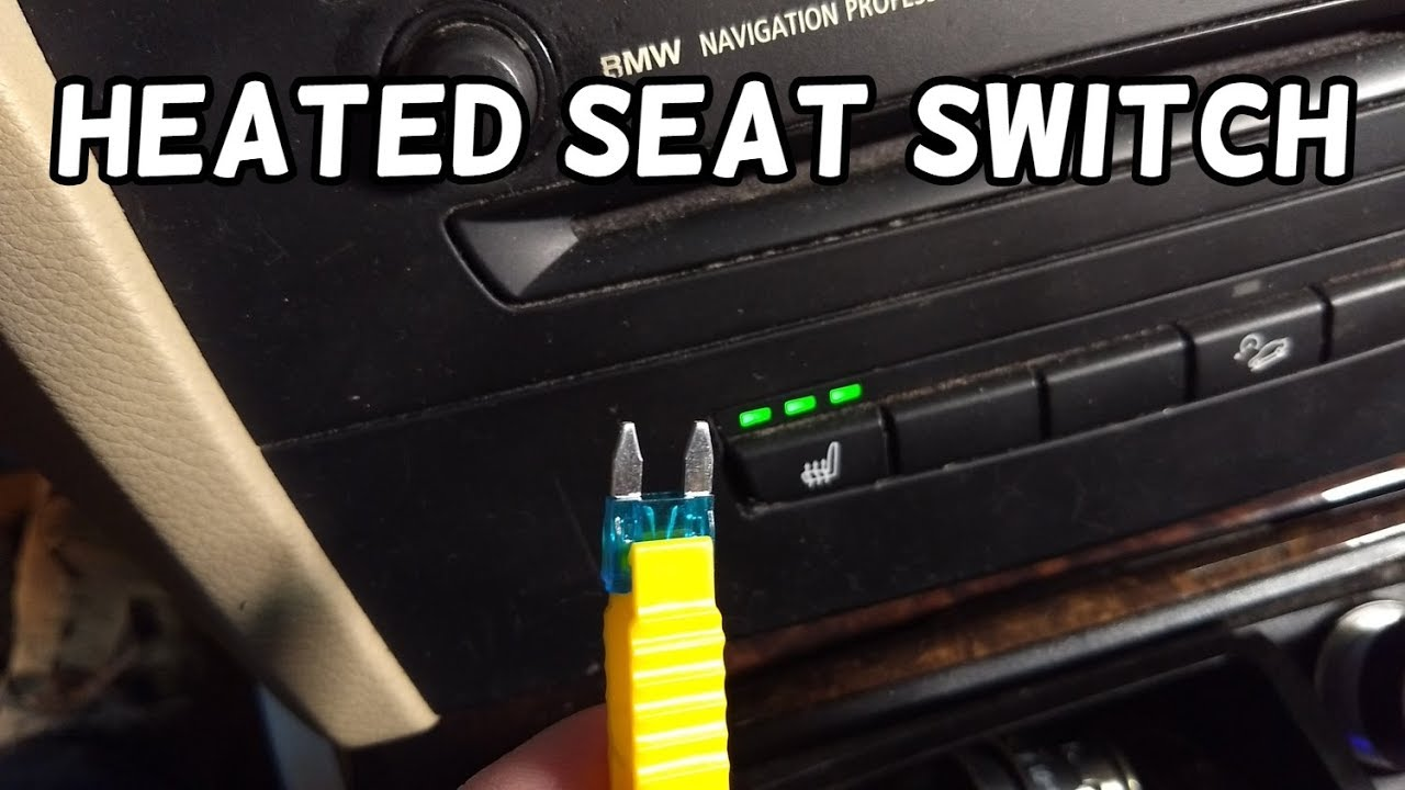 heated seats fuse location bmw e90 e91 e92 e93 [ 1280 x 720 Pixel ]