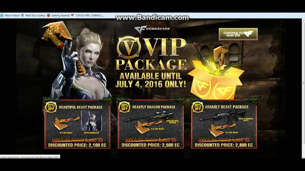 (Tutorial) Crossfire PH Free Cheat VIP Weapons JUNE 2016