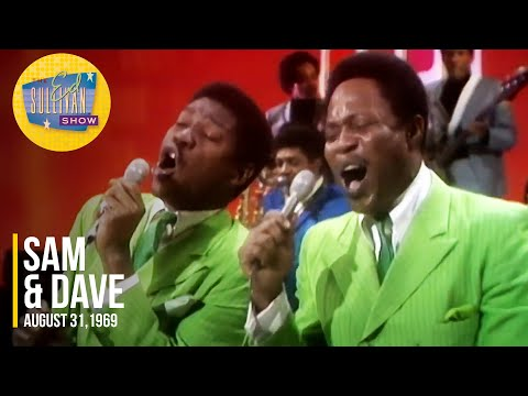 """Sam & Dave """"Soul Sister, Brown Sugar,"""" & """"That Lucky Old Sun"""" on The Ed Sullivan Show"""