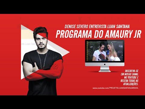 Luan Santana - Programa do Amaury Jr - Entrevista 1709