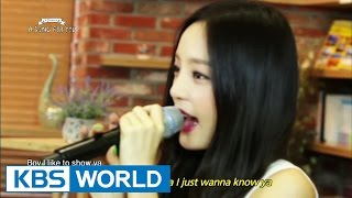 Global Request Show : A Song For You 3 - Ep.7 with KARA