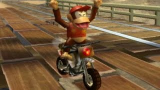 Mario Kart Wii - 150cc Flower Cup Grand Prix (Diddy Kong Gameplay)