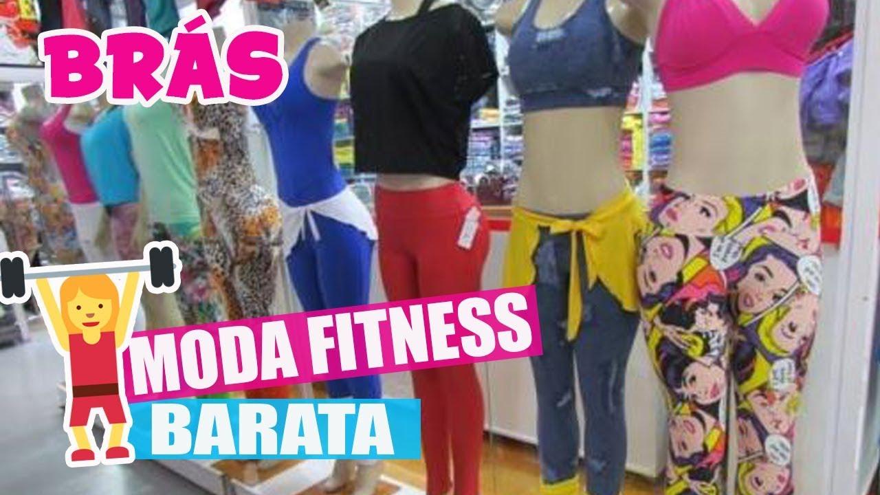 befe8498d BRÁS - MODA FITNESS BARATA NO BRÁS - YouTube
