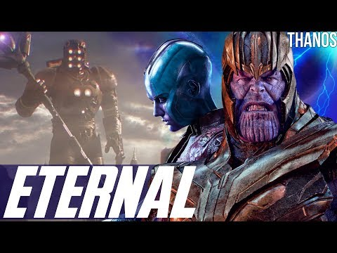 Thanos & The Celestial 4th Host Eternals Theory + The Quantum Kronos Easter Egg - Avengers Endgame