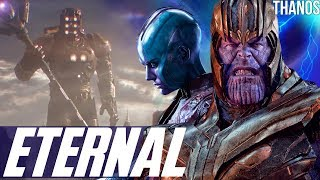 Thanos & The Celestial 4th Host Eternals Theory + The Quantum Kronos Easter Egg - Avengers Endgame