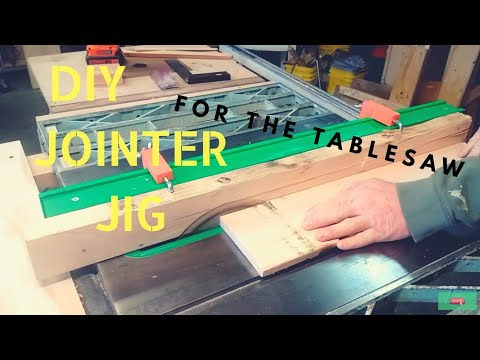 How to make a DIY jointer jig attachment for the tablesaw