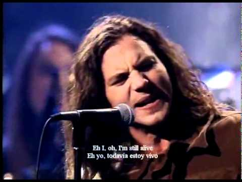 Pearl JamAlive del MTV UnpluggedSubtitulado Al Español