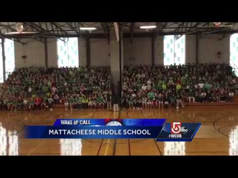 Wake up call: Mattacheese Middle School