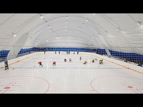 Новая ледовая арена в Томске. Репортаж SportUs.Рro