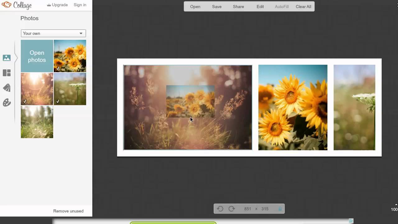 Using Picmonkey As A Free Collage Maker For Facebook Cover Images