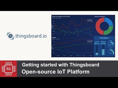 Установка ThingsBoard платформа для IoT - YouTube