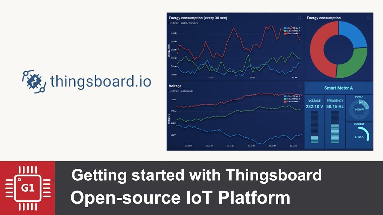 Установка ThingsBoard платформа для IoT