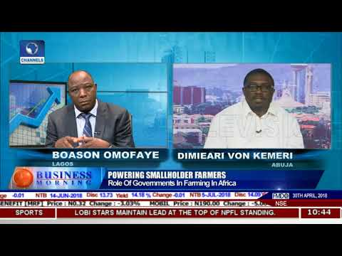 Focus On Key Issues In Africa's Smallholder Farming Pt.2 |Business Morning|