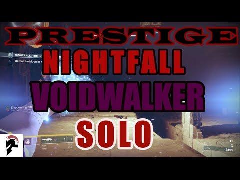 Destiny 2 - Solo Prestige Nightfall - The Inverted Spire - Warlock