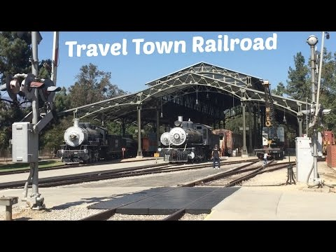 Kid's Birthday Party Places   Travel Town Railroad @ Griffith Park (Los Angeles)