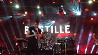 Bastille performs