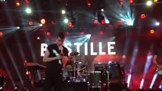 Bastille performs