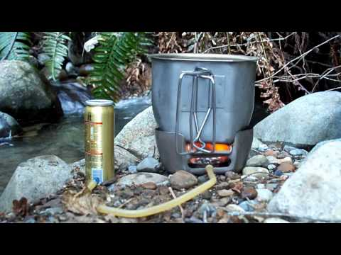 BCB Crusader Cooker with External Fuel Source