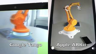 ARKit vs Tango - direct comparison