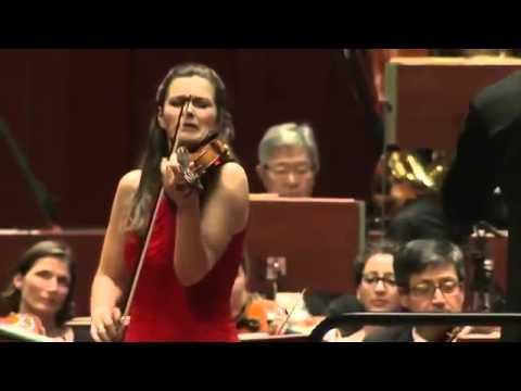 "Janine Jansen performs Tchaikovsky's ""Mélodie"" live in 2013"