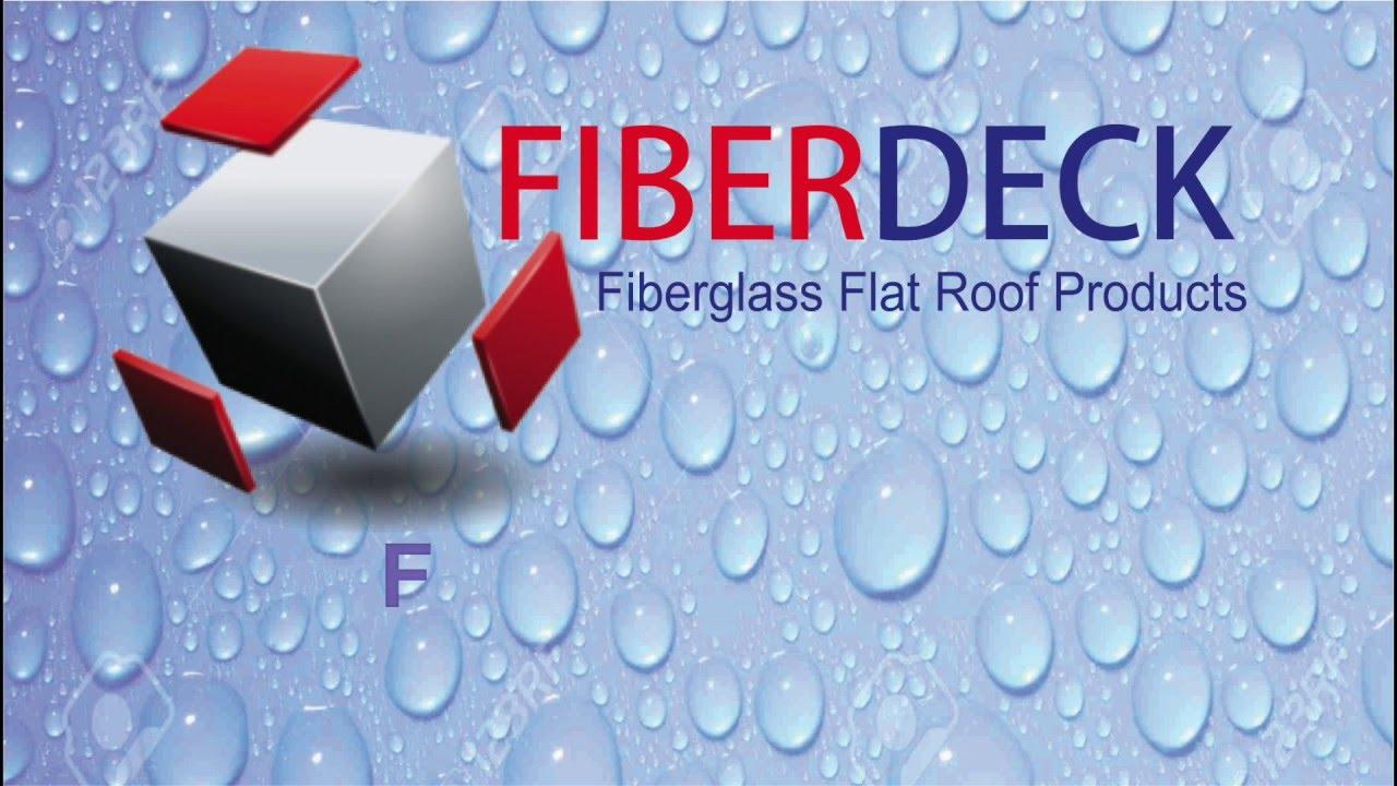 Fiberglass a Flat Roof