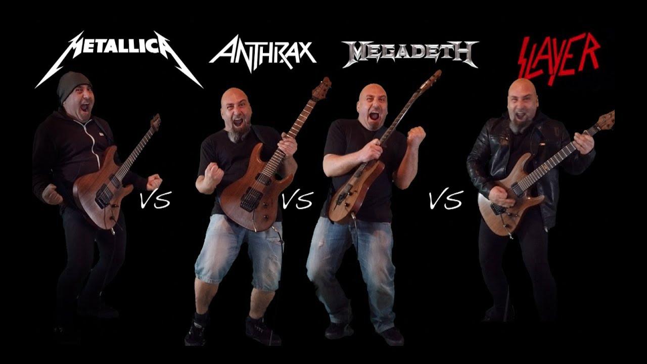 The Big 4  (Guitar Riffs Battle)