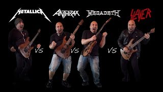 The Big 4  (Guitar Riffs Battle)