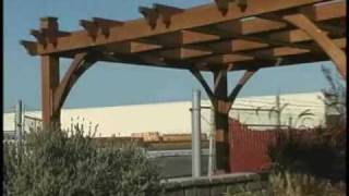 Cedar Patio Pergola 10x8 Breeze